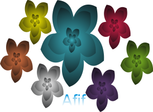 bunga afif