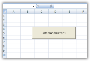 Visual Basic command button